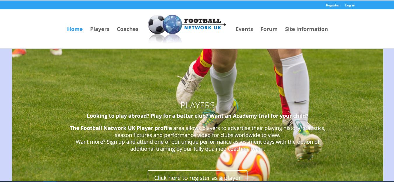 website design wigan football network uk by JPSE Media Website Design and Marketing Wigan