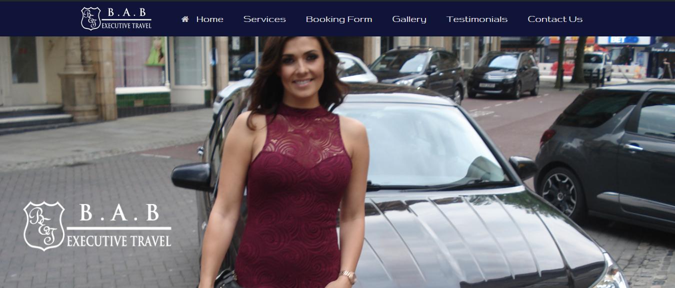 website design wigan exec travel by JPSE Media Website Design and Marketing Wigan